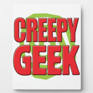 Creepy Geek Photo Plaques