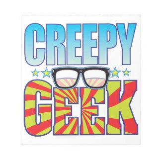 Creepy Geek v4 Scratch Pad
