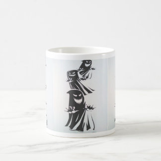 Creepy Ghost Coffee Mug