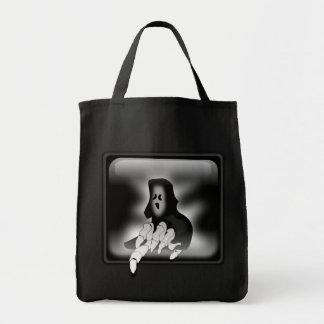 """""""Creepy Ghost"""" Tote Bag"""