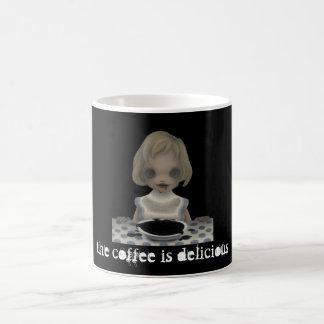 Creepy Girl Coffee Mug