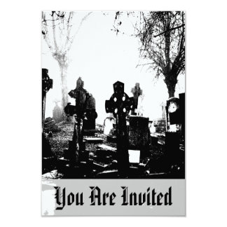 Creepy Gothic Graveyard Card