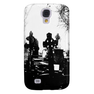Creepy Gothic Graveyard Galaxy S4 Case