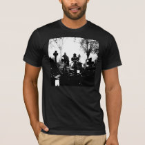Creepy Gothic Graveyard T-Shirt