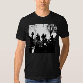 Creepy Gothic Graveyard Tee Shirt