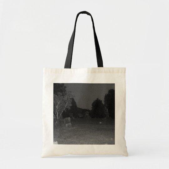 Creepy Grave Yard Tote Bag