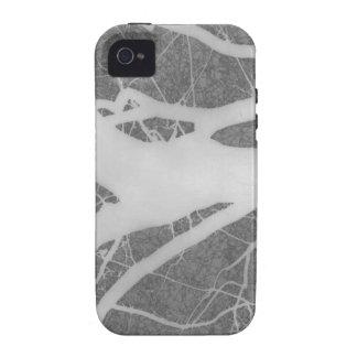 Creepy Gray Tree Abstract iPhone 4 Cover