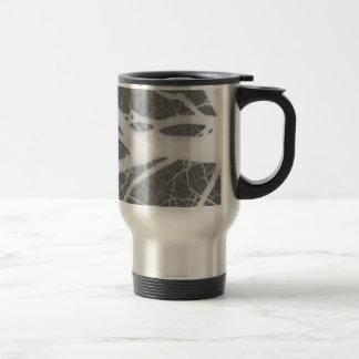 Creepy Gray Tree Abstract Travel Mug