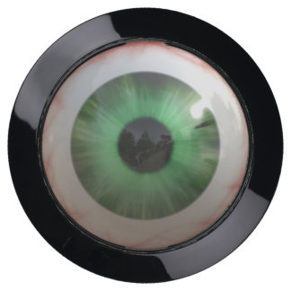 Creepy Green Eyeball USB Charging Station