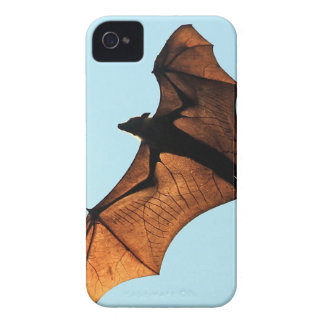 Creepy halloween flying fox (fruit bat) Case-Mate iPhone 4 cases