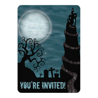Creepy Halloween Party Invitation