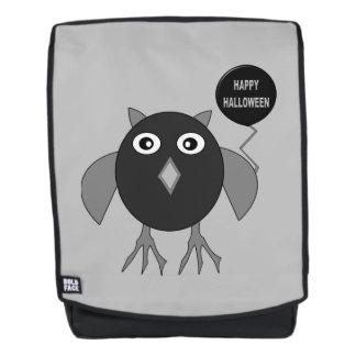 Creepy Halloween Party Owl Backpack