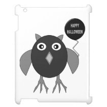Creepy Halloween Party Owl iPad Case