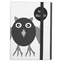 Creepy Halloween Party Owl iPad Case
