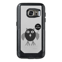 Creepy Halloween Party Owl Phone Case