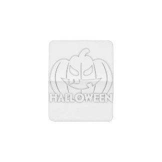 Creepy Halloween pumpkin Business Card Holder