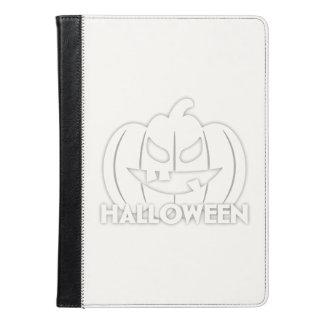 Creepy Halloween pumpkin iPad Air Case