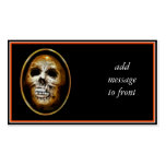 Creepy Halloween Skull Double-Sided Standard Business Cards (Pack Of 100)