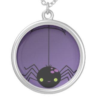 Creepy Halloween Spider Pendants