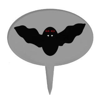 Creepy Halloween Vampire Bat Cake Pick