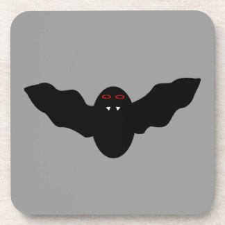 Creepy Halloween Vampire Bat Coaster