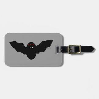 Creepy Halloween Vampire Bat Custom Luggage Tag