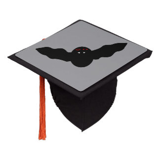 Creepy Halloween Vampire Bat Graduation Topper