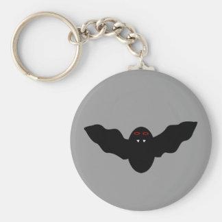 Creepy Halloween Vampire Bat Keychain