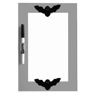 Creepy Halloween Vampire Bat Memo Board