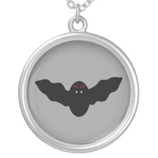 Creepy Halloween Vampire Bat Necklace