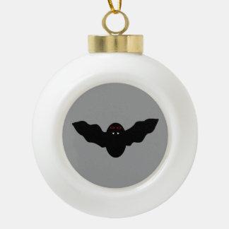 Creepy Halloween Vampire Bat Ornament
