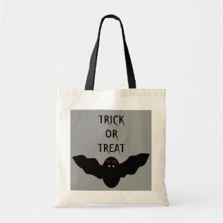 Creepy Halloween Vampire Bat Trick or Treat Bag