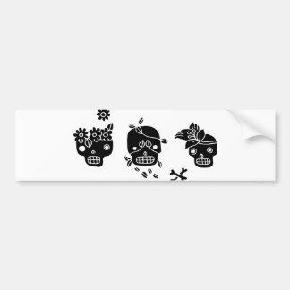Creepy Happy Bumper Sticker