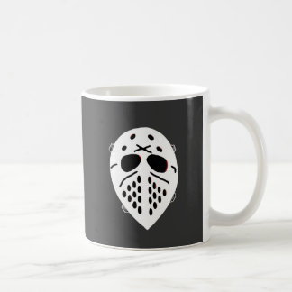 Creepy Hockey Mask Products Coffee Mug