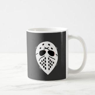 Creepy Hockey Mask Products Classic White Coffee Mug