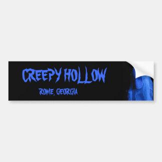 Creepy Hollow bumper sticker