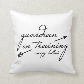 """Creepy Hollow """"guardian in training"""" pillow"""