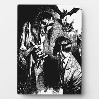 Creepy Horror Creature Nightmare Plaques