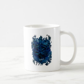 Creepy Horror Skull Coffee Mug