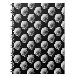 Creepy Infant Skulls Gothic Horror Punk Notebook