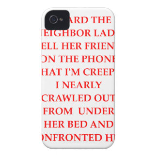 CREEPY iPhone 4 COVER