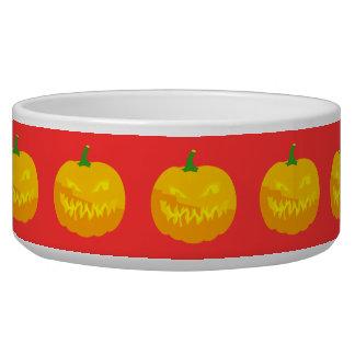 Creepy Jack-O-'Lantern Bowl