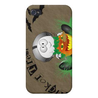 Creepy Jack-o-Lantern iPhone4 Case Case For iPhone 4