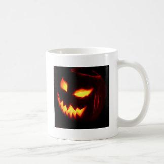Creepy Jack o lantern pumpkin Coffee Mugs