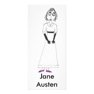 Creepy Jane Austen Rack Card