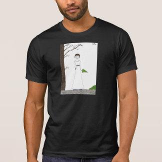 Creepy Jane Austen Rice Painting T-Shirt