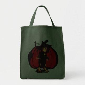 Creepy Kids Pumpkin House Bag