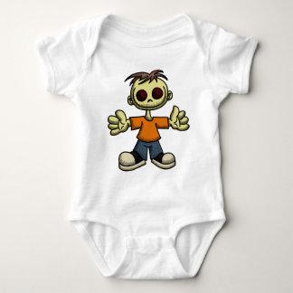 Creepy Little Boy Baby Bodysuit