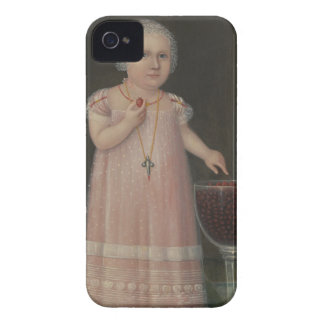 Creepy Little Girl Eats Candy Case-Mate iPhone 4 Case