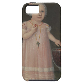 Creepy Little Girl Eats Candy iPhone SE/5/5s Case